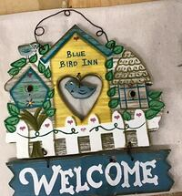 Very charming Welcome wood sign Langley, V1M 2J1