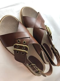 NEW  Axxiom Women's 6M Buckle Sandals West Des Moines