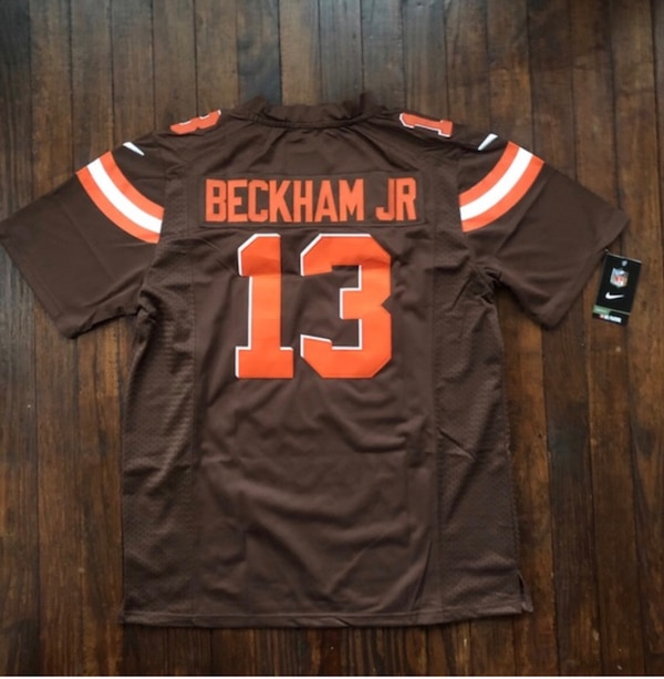 dd9e3e80c Used Odell Beckham Jr. Cleveland Browns Stitched Jersey New for sale in  Dartmouth - letgo
