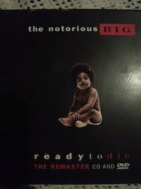the notorious BIG CD and dvd Kern County, 93307