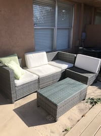 Outdoor Sofa Patio Set w/ Coffee Table Hollywood, 33020