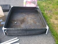 set of 2 garden boxs 4x4 for sale Châteauguay, J6J 1B7