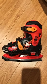 Lightning McQueen Skates (Ice/Roller) skates Brand new adjustable from size J12-2  Vaughan, L4H 0G5