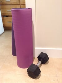 Yoga mat + weight brand new  Vancouver, V5Y