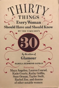 Thirty Things Every Woman Should Have and Should Know Frederick