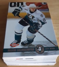 2001 Pacific Hockey Cards... $8 Firm For All 60 C Calgary