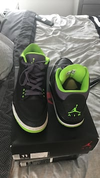 """RETRO 3 AIR JORDAN """"JOKERS"""" SIZE 11 ORG SHOE BOX INCLUDED. Sterling Heights, 48310"""