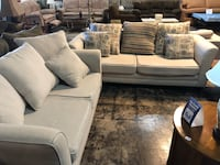 Tan tweed couch and love seat Jacksonville, 32277