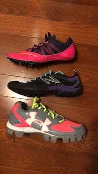 Three pairs of women's size 8 athletic shoes  Vienna, 22182