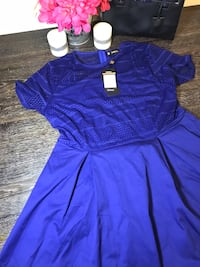 BLUE PRINCESS DRESS Washington, 20011