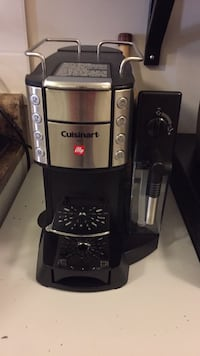 black and gray Cuisinart coffeemaker Mississauga, L5J 1S3