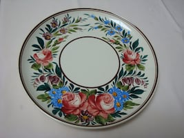 "Gorgeous wall decorating plate - 13"" wide"