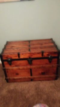 Homemade hopechest.  34inches in lenth 20 inches in width.  Newtown, 18940