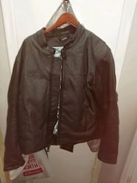 Icon leather and textile riding jacket Allen Park, 48101