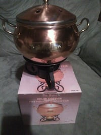 Copper scent burner
