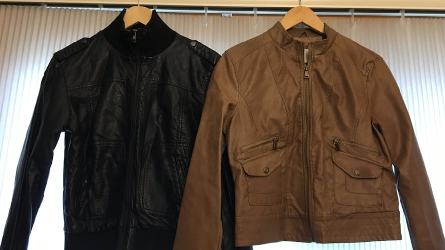 LIKE NEW Faux leather jackets af656f49-1f53-483d-b6bf-6f0e1f9dd6c5