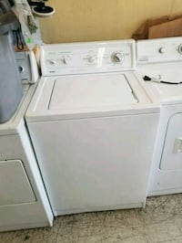white top-load clothes washer Bell, 90201
