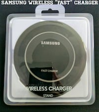 Samsung Fast Wireless Charger w/ Stand (New)  Arlington