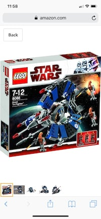 LEGO Star Wars Droid Tri-Fighter 8086 Gaithersburg, 20877