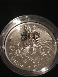 2017 fine silver coin bejeweled bugs Bee  Orillia, L3V