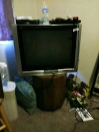 black and gray CRT TV Bakersfield, 93301