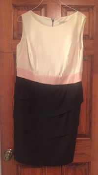 White, pink and black dress Levittown, 11756