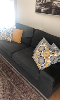 Sofa, two armchairs, dinner table , 4 chairs