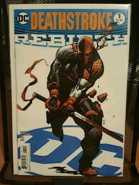#1 Deathstroke comic book DC