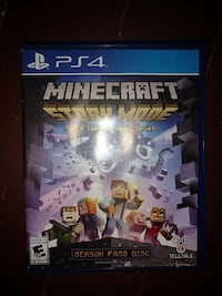 Sony PS4 Minecraft game case