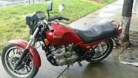 red and black Honda standard motorcycle Fremont, 94539