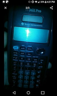 black and blue Texas Instruments TI-84 Plus Santa Fe Springs, 90670