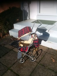 Easy fold by Welsh, 1950's Doll Stroller with pouch,  Excellent  Condi Annandale, 22003