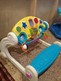 baby's white and blue activity walker Barrie, L4N