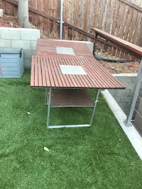 2 patio tables and 6 chairs Los Angeles, 90063