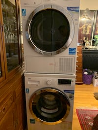 White front load washing machine and dryer combo, need out of my dining room ASAP! Yonkers, 10704
