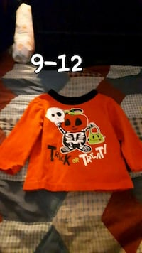 red and white Mickey Mouse print sweater Edmonton, T5T 3S9