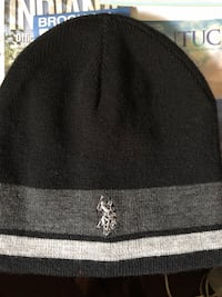black and gray knit cap Ladera Heights