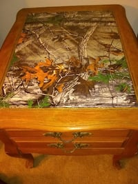 Real Tree Camo table with drawer
