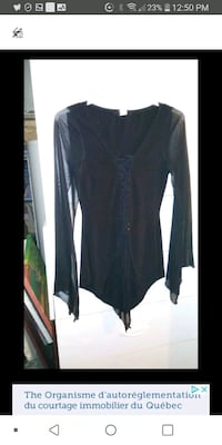Woman Sheer sleeves top Small Laval, H7M 4A2