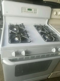 white 4-burner gas range Temple Hills, 20748