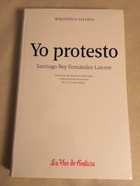FRANCISCO REY Yo protesto (a estrenar) Madrid, 28020