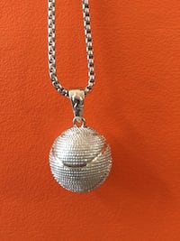 Silver chain with basketball Charm. Great gift   Aldie, 20105