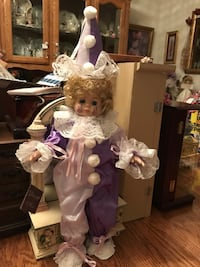 Precious !!! Adorable Porcelain Doll with Painted flowers on her face Gainesville, 20155