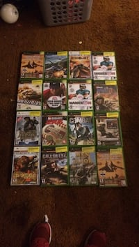 Xbox assorted game cases Manchester, 48158