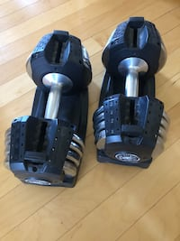 Xmark 50lb Adjustable Dumbbells Reston, 20191