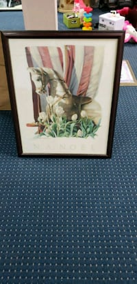 brown wooden framed painting of woman Mississauga, L5M 5B7