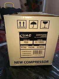 Band new in box AC compressor 2007-2015 Corpus Christi