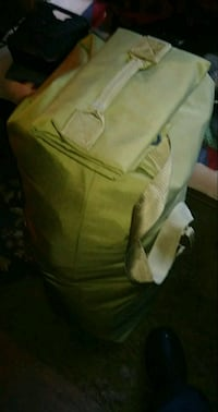 Military Duffle Top Loading.-Pick up only. Mount Morris, 48458