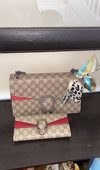 Gucci dionysus with wallet