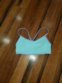 Ivivva sports bra girls size 10. Excellent condition
